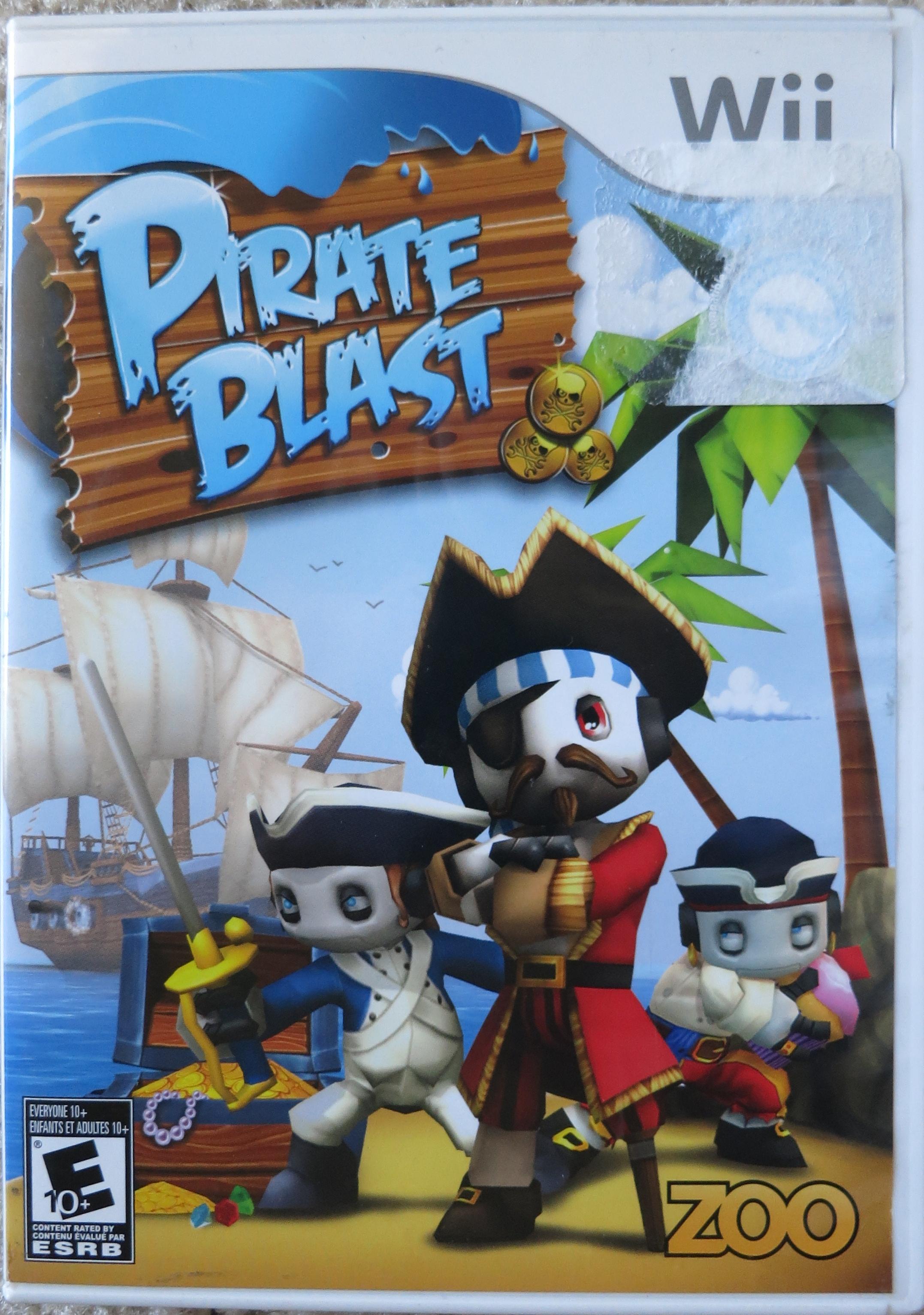 Pirate Blast Cover