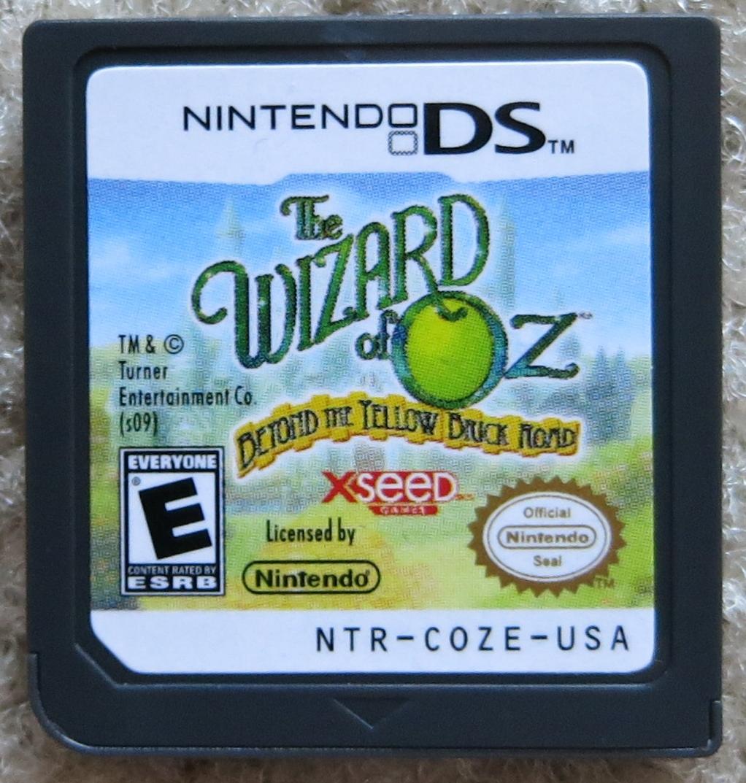 Wizard of Oz Beyon the Yellow Brick Road Cartridge