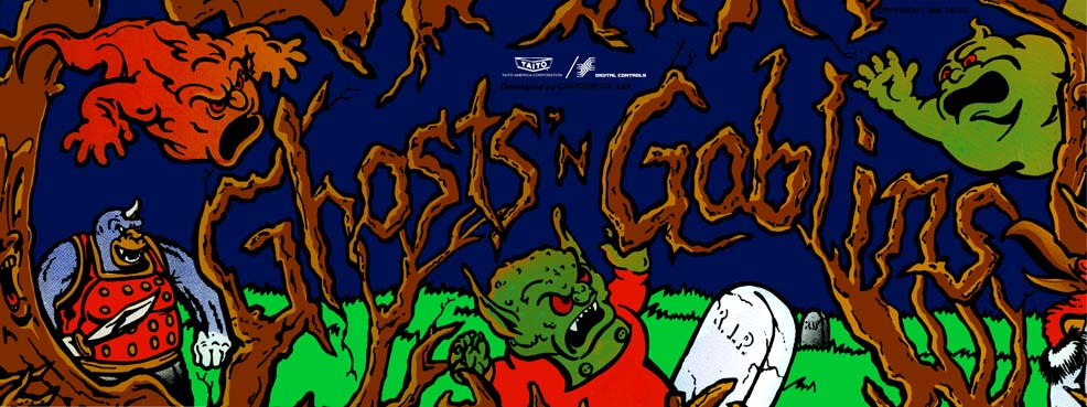 A World of Games: Ghosts 'n Goblins
