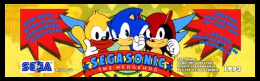 A World of Games: SegaSonic the Hedgehog