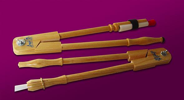 compás de madera