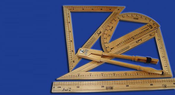 Juego Geométrico de Madera