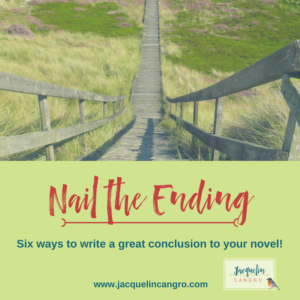 Nail the Ending of your Novel