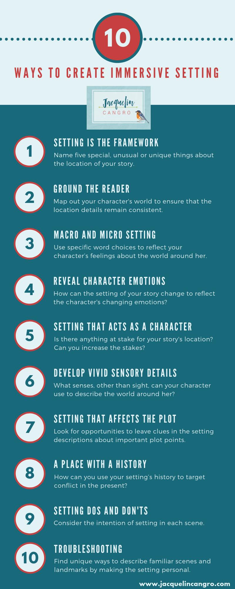 10 ways to create immersive setting