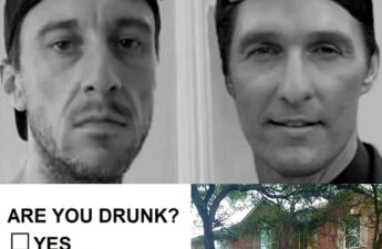 MJ The Terrible Matthew McConaughey Drunk Moving Collage