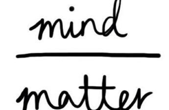 """Mind Over Matter """"MJ The Terrible"""" Logo Branded Quote Picture"""