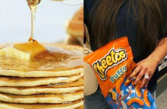 Pancakes and Cheetos Sexologist Post Collage