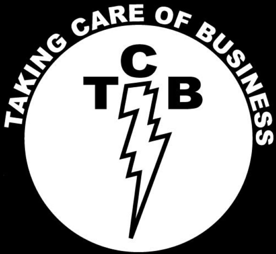 Taking Care of Business Graphic