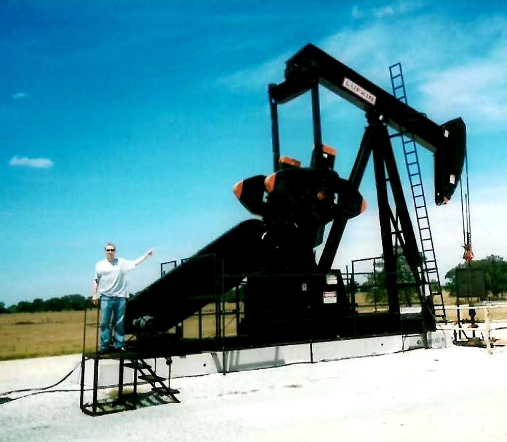 """Michael """"MJ The Terrible"""" Johnson Visiting An Oil Field"""
