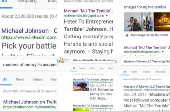 MJ THE TERRIBLE GOOGLE SEARCHES COLLAGE