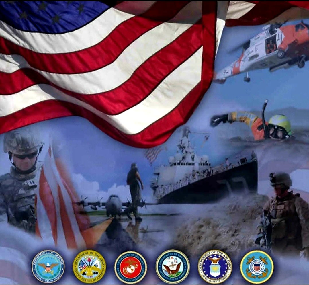 Armed Forces Veterans Day Post Collage