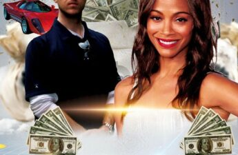 The Adventures of MJ The Terrible Mock Movie Poster with Michael MJ The Terrible Johnson and Zoe Saldana
