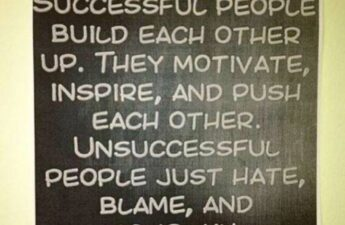 Masters of Money LLC Successful People Build Each Other Up Picture Quote Graphic