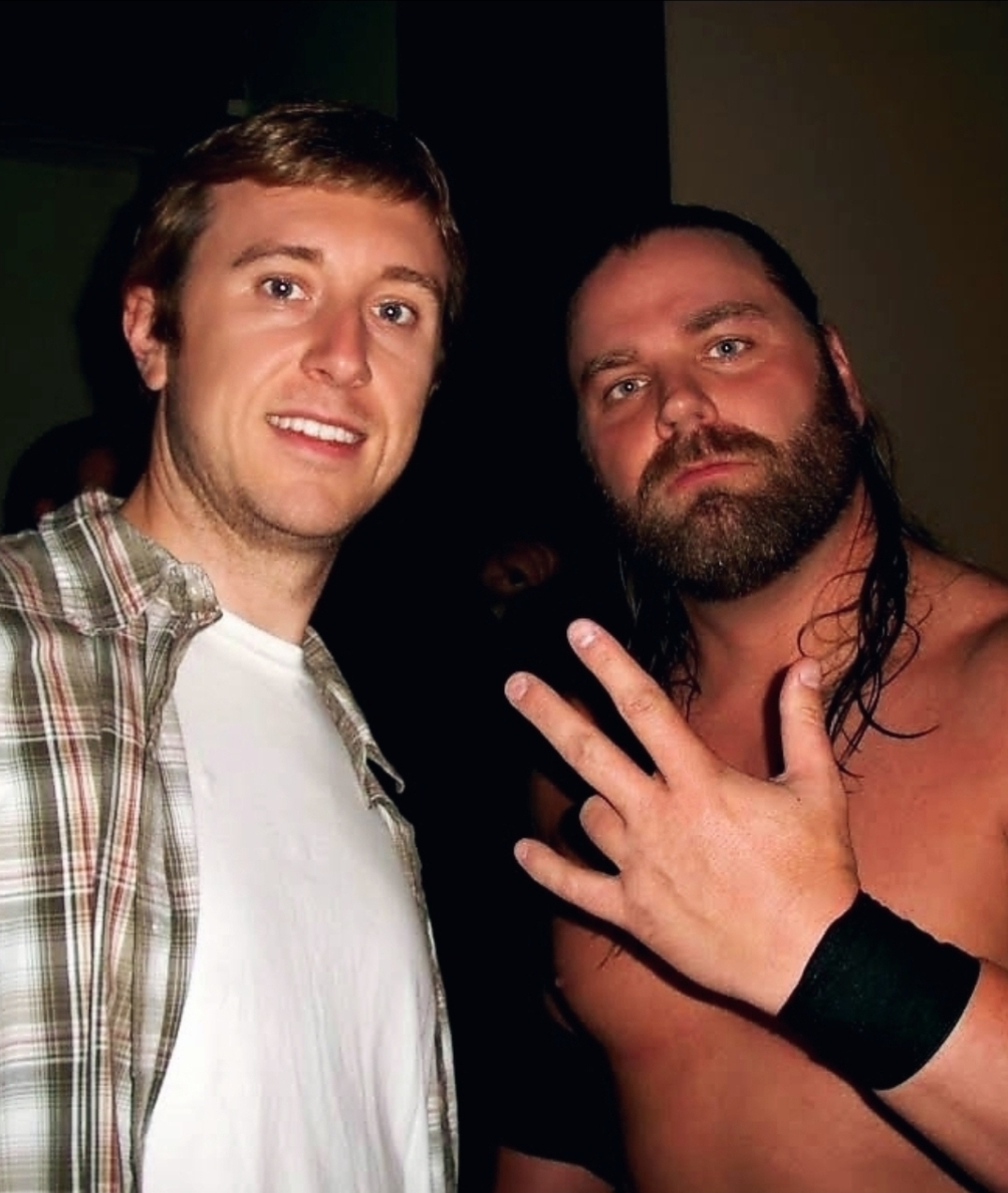 """Michael """"MJ The Terrible"""" Johnson and James Storm Photo"""
