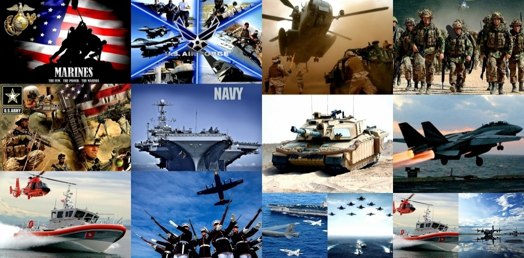 Memorial Day Military Veterans 2021 Collage Photo