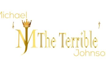 """Michael """"MJ The Terrible"""" Johnson Gold Letters and Crown Logo"""