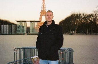"""Michael """"MJ The Terrible"""" Johnson Photo at Eiffel Tower in Paris France"""