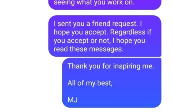 """Jeff Dachis and Michael """"MJ The Terrible"""" Johnson Messages Screenshot"""