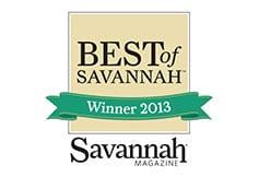 Best of Savannah Winner 2013