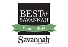 Best of Savannah Winner 2014