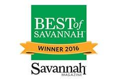 Best of Savannah Winner 2016