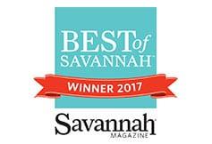 Best of Savannah Winner 2017