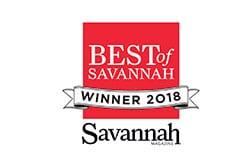 Best of Savannah Winner 2018