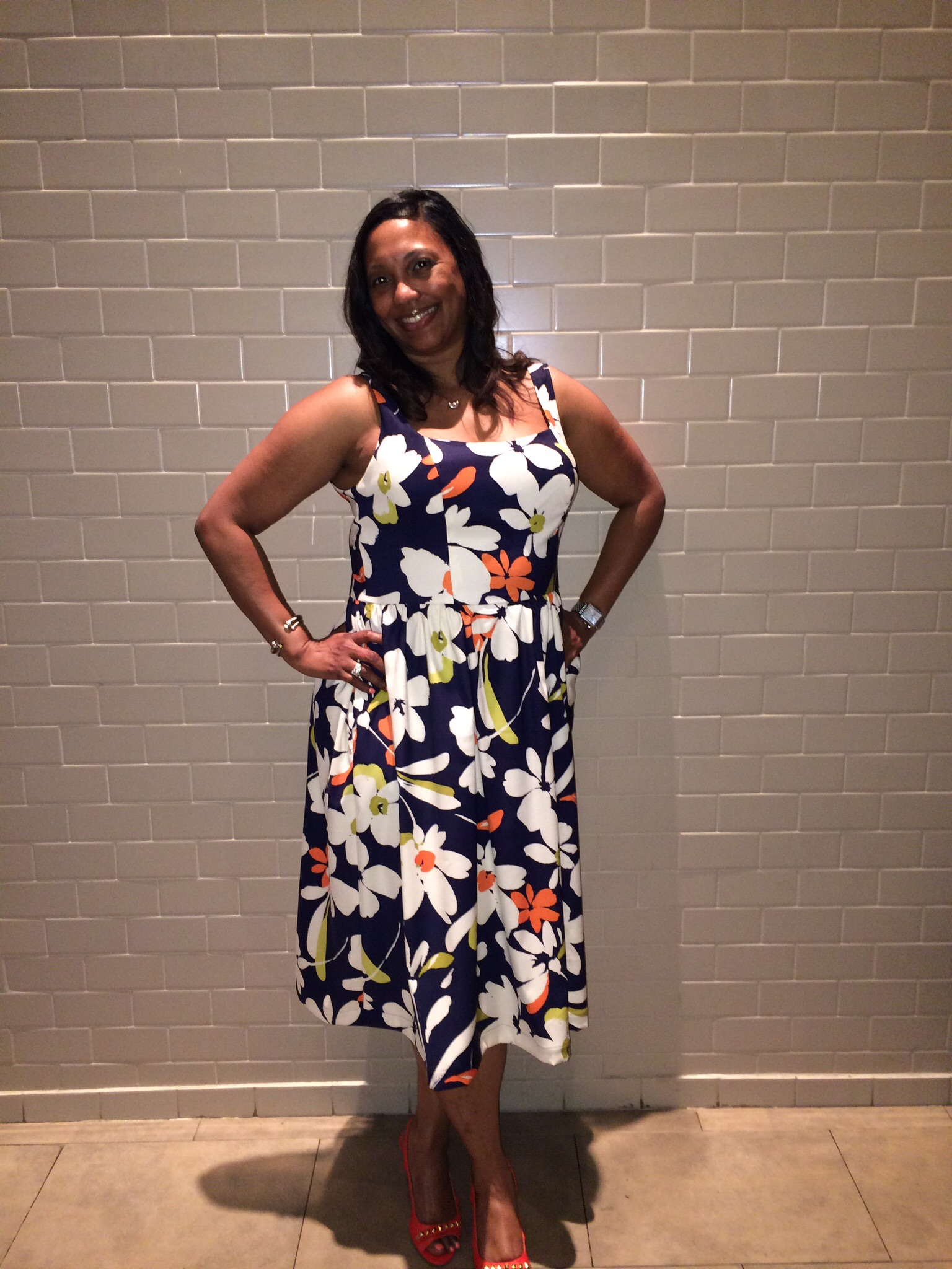 Summer Dress with Pockets Vogue 9100
