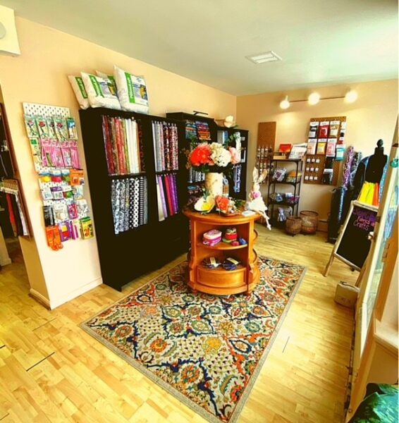 Inside Sew Chic Fabrics and Crafts