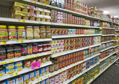 can goods, Grocery Store