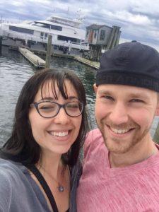 Drew Kairos & wife in Newport, RI