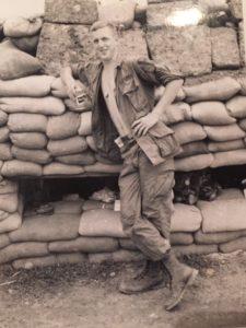Mike Allen in Vietnam