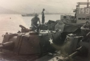 George Williams transporting M108s on the Dong Ha River