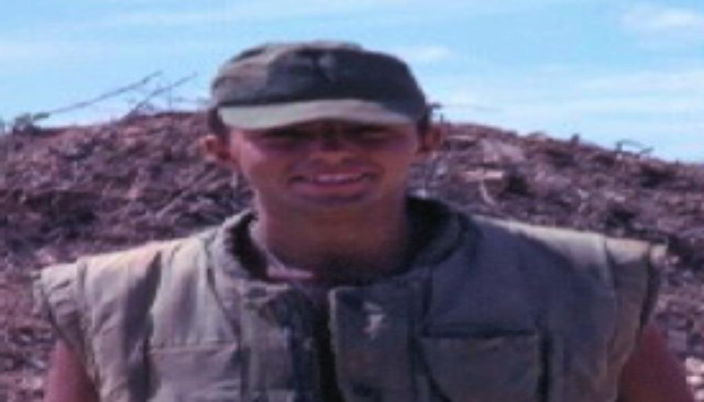 Specialist 4 Tom Garvey, U.S. Army, in Vietnam