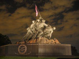 U.S. Marine Corps Memorial in Washington, DC.