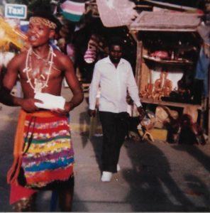A market in Mombasa, Kenya