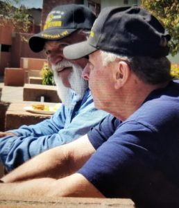Rick Adler and Tony Gallegos at the reunion in Sedona