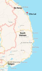 Da Nang and Chu Lai in South Vietnam