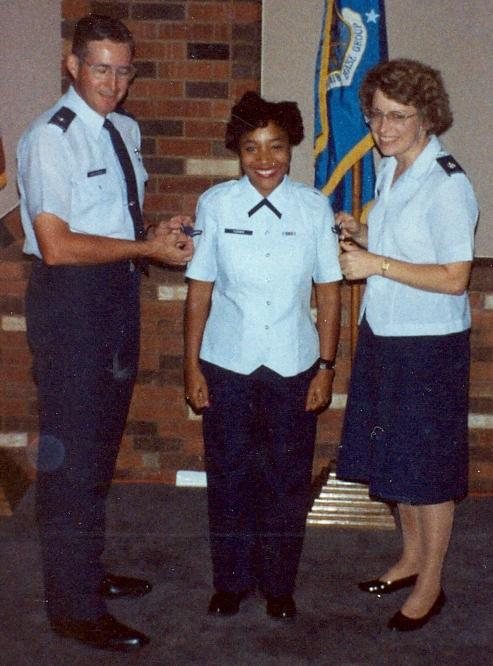 Airman Turner-Winston promotion ceremony