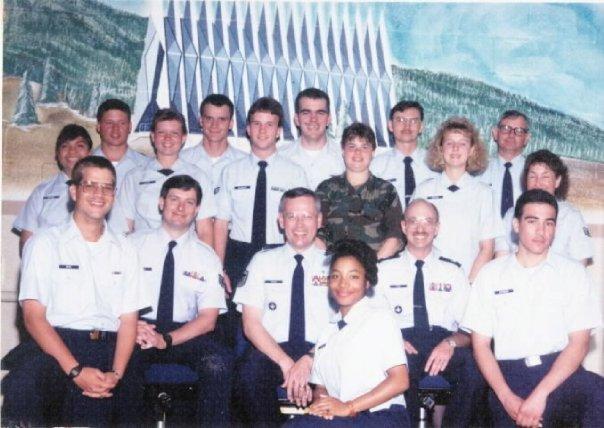 Airman Turner-Winston's Chapel Management Class