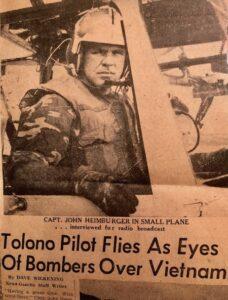 News-Gazette Article about John Heimburger in Vietnam
