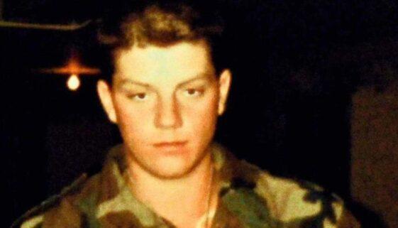 Daniel J Smith in Camoflage Uniform - Feature Image