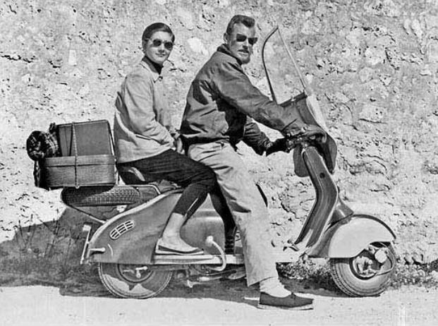Robert & Julie Burgess on their Riviera tour