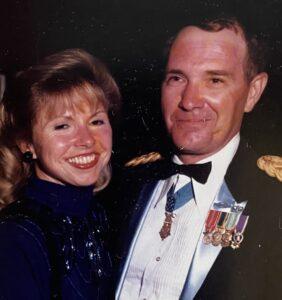 Joe Marm with his wife, Deborah