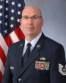 Jay Mastrud in the Air National Guard