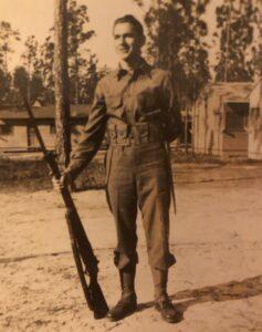 Howard Berger at Camp Stewart