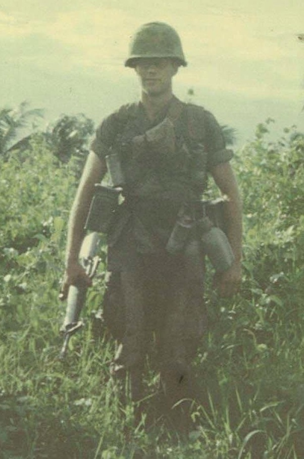 Dave Himmer in the field in Vietnam