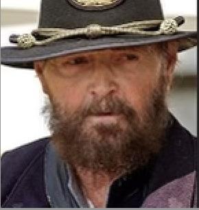 Gene Walker portraying Major John Aaron Rawlins