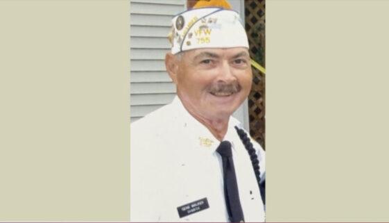 Petty Officer Gene Walker in his VFW Uniform