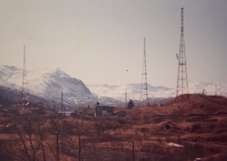 The Buskin Lake transmitter site on Kodiak Island